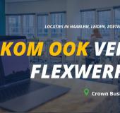 Veilig Flexwerken bij Crown Business Center